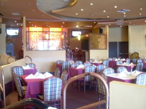The food at Meaza is the star, but the space itself isn' too shabby either-- in fact, its quite elegant.