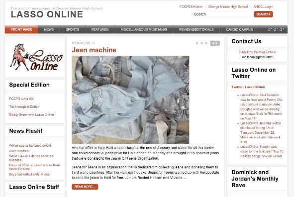 Mason's award winning Lasso Online