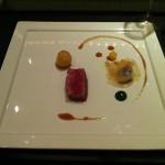 Beef Strip Loin with Potato, Rutabaga, Turnip and Onion